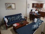 Main Floor Combination Living/Dining