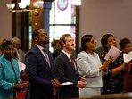 Zuckerberg visita Emmanuel Church