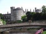 Kilkenny Castle in Kilkenny city