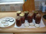 Home made jam at Twin Oaks