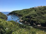 Porthclais Harbour, great for crabbing, jetty jumping and messing about in boats