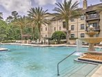 Retreat to St. Augustine in style when you book this 2-bedroom, 2-bathroom vacation rental condo situated in the...