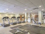 Stay true to your workout routine with the community fitness center!