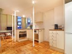 Kitchen fitted for self-catering