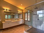 The magnificent bathroom.