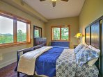 Each bedroom provides spectacular views.