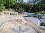 Pool and sun terrace, 4 sun loungers available