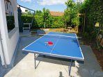 Garden sport - table tenis