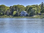This waterfront home provides the best New England experience!