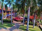Main Villa and Sitting Pavilion.
