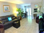 2Br ~Tropical Oasis ~ Victoria Park 2/1 Condo  - 'Just Minutes to The Beach'