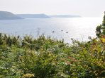 Freshwater Bay looking towards Manorbier.