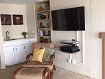Mounted Flat Screen TV