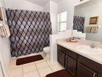 Sink, Bathroom, Indoors, Banister, Handrail