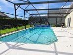 Pool, Water, Building, Yard