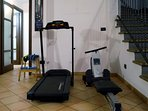 MULTIFUNCTIONAL AREA - the gym
