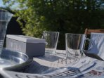 THE GARDEN - outdoor breakfast
