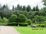 Gardens at Crathes Castle