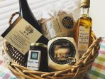 Local welcome basket