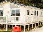 Luxury Lodge at cayton Bay Parkdean Resorts
