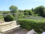 Lovely views over plum orchards and organic vineyards which guests can visit for wine tasting!