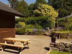 Well equipped modern chalet in the beautiful grounds of the 1711 Old Rectory Donard