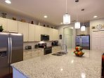 Fully equipped Gourmet Kitchen; 2 refrigerators & 2 dishwashers