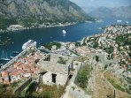 View of Boka Bay from Kotor Old Town