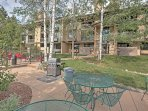 Fire up the grill and have a cookout in the community patio area.