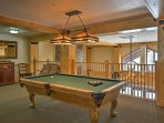 Challenge your travel companions to a game of pool!