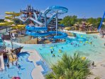 Schlitterbahn Waterpark in nearby New Braunfels