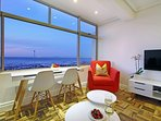 The sea view is mesmerising from this apartment