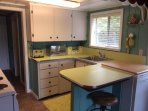 Kitchen. Newly refurbished, new countertops, dishwasher and all appliances and kitchenware.