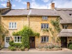 Broad Campden is a peaceful village, with lovely Cotswold stone cottages...