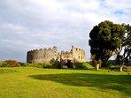 Restormel Castle, Lostwithiel. 2 miles away