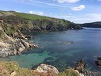 Coombe Beach, Fowey. Approx 6 miles away