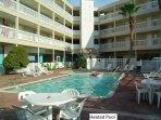 Building 1 pool:  One of 2 swimming pools and kiddie pool.
