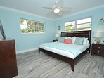 Spacious Bed Two (King Bed) Features Dresser + Two Nightstands + Closet + HD TV!