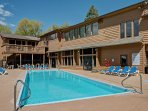 The community pool can be used for an additional fee.