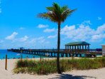 Laud by the Sea Beach Offers Wide Beaches + Anglin's Fishing + Observation Pier!