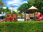 Laud by the Sea Municipal Park Offers Tennis + Basketball + Soccer + Playground!