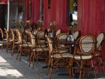 Many great restaurants, charming cafes, and bars just  around the corner. ENJOY!