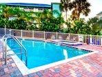 Pool and spa at Harborview Grande.