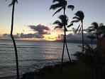 Sunset View From Our Lanai