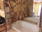 Jacuzzi Tub with Shower in Master Bath Room