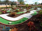 Mini Golf at Resort Clubhouse