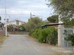 stradina ingresso proprietà