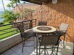 Bistro Dining Table on Lanai