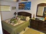 Cal King Bed in Bedroom