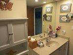 Bathroom Sink with Mirror and Vanity